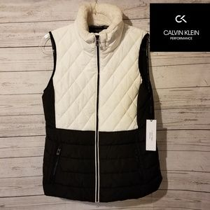 NWT Calvin Klein Performance Women's Winter Vest